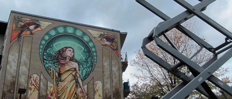 Street Art Nouveau: Notre-Dame-de-Grâce